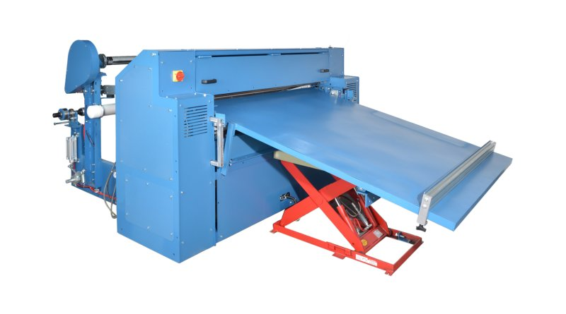 Sheeter Lowering Table