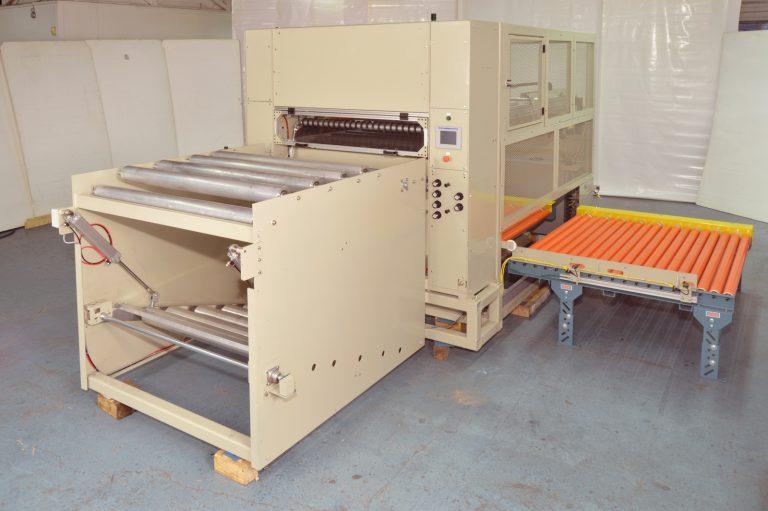 Gripper Stacker Indexing Conveyor